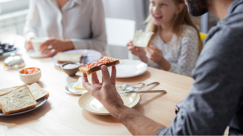 Das Frühstück gehört zu den wichtigsten Mahlzeiten des Tages.